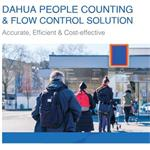 Set Dahua Počítání osob - People counting & Flow Control solution